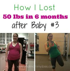 Here's a little bit about my post baby weight loss journey. I hope it can inspire other moms to lose weight after having kids.