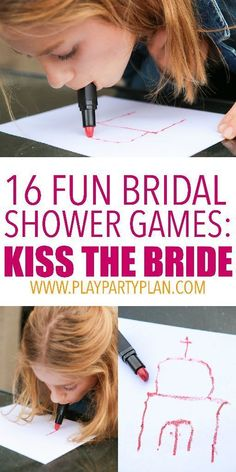 bachlorette party ideas Small Party Games For Women Wedding Party Games, Fun Bridal Shower Games, Bridal Games, Bridal Shower Party, Hilarious Bridal Shower Games, Hen Party Games, Wedding Showers, Fun Games, Wedding Ideas