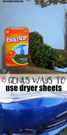 Ways to use a dryer sheet