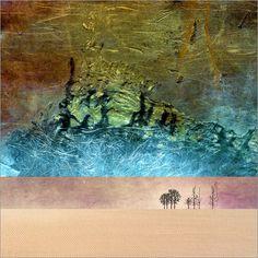 Pia Schneider atelier COLOUR-VISION - Wüsten Traum 6. #kunst #art #kunstdrucke #artprint #poster #malerei #painting #posterlounge #fotografie  #photography #grafikdesign #graphicdesign #illustration #collage #ateliercolourvision #piaschneider #wüste #desert #abstrakt #surreal #landschaft #landscape #phantasie #bäume #trees