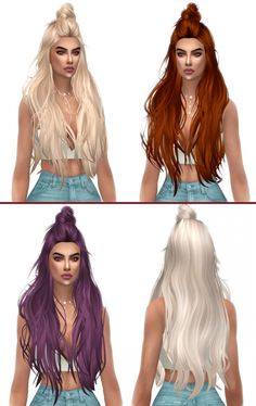 HallowSims Mandy Hair Retexture at Kenzar Sims via Sims 4 Updates Check more at http://sims4updates.net/hairstyles/hallowsims-mandy-hair-retexture-at-kenzar-sims/