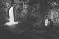 Waterfall Elopement in the Rainforest: Jessi + Cody | Green Wedding Shoes Wedding Blog | Wedding Trends for Stylish + Creative Brides