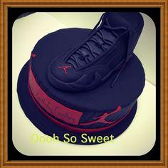 Jordan cake for Ravens player Courtney Upshaw