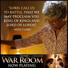 The Lord is calling us to battle #WarRoom