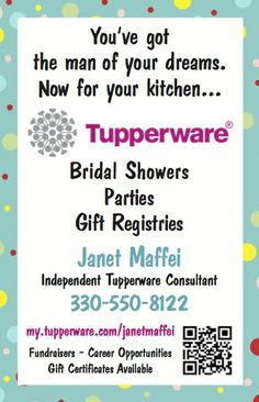 We have it all!! www.facebook.com/Tupperware.MJ