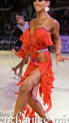 Louise. Always unusual and fun look on the dancefloor