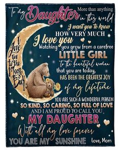 Love You Daughter Quotes, Love Mom Quotes, Niece Quotes, Birthday Quotes For Daughter, Mother Daughter Quotes, I Love My Daughter, Son Quotes, Mother Quotes, Daughter Sayings