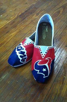HANDPAINTED TOMS - Houston..
