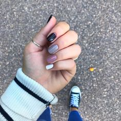 """Olivia Anderson on Instagram: """"fall is officially here (in my books at least) and that means its time for fall shades. i have been loving the ombré look and saw…"""" Essie, My Nails, My Books, At Least, Meant To Be, Shades, Photo And Video, Fall, Instagram"""