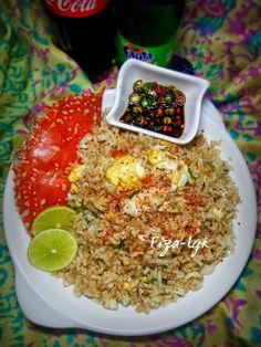 NASI GORENG KETAM | Fiza's Cooking