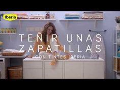 Cómo teñir una zapatillas con Tintes Iberia - YouTube