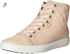 check out 33a44 90216 ECCO Womens Womens Soft 7 Quilted High Top Fashion Sneaker, Rose  DustRose Dust, 39 EU8-8.5 M US - Ecco sneakers for women (Amazon  Partner-Link)