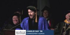 Charlie Day Tells Merrimack College Grads About The Bet He Made On Himself (VIDEO)