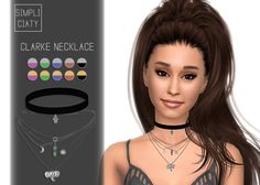 Clarke Necklace at Simpliciaty via Sims 4 Updates
