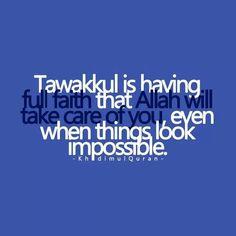 I trust u ya ALLAH!! Help me with my trails u r d only hope♥♥