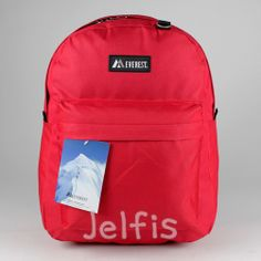Jelfis.com - Everest Backpack - Red 16' Large Boys Girls Teens School Book Bag Licensed, $11.99 (http://www.jelfis.com/everest-backpack-red-16-large-boys-girls-teens-school-book-bag-licensed/)