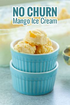 Soothe your thirst and craving for a sweet, delicious, and tropical dessert with this creamy Filipino Mango Ice Cream! This recipe uses 4 ingredients only, yet it tastes superb because of the condensed milk, all-purpose cream, and the fresh mango pulp! Mango Recipes, Ice Cream Recipes, My Recipes, Cooking Recipes, Tropical Desserts, Fun Desserts, Mango Health Benefits, Mango Pulp, Mango Ice Cream