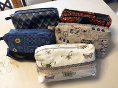 Trousses Zip-Zip cousues par Anne - Patron trousse double Sacôtin