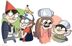 Over the Garden Wall + Gravity Falls