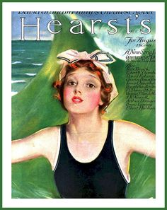 1915 August Cover - Hearst's by Penrhyn Stanlaws