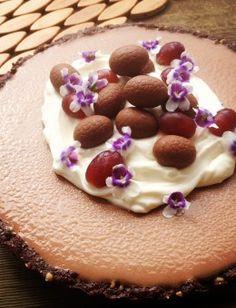 Skye Craig's mostly raw Easter chocolate cashew tart