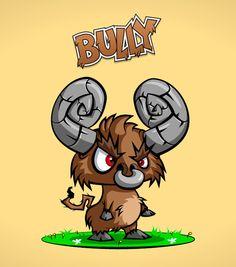 Bully Character #bull #character