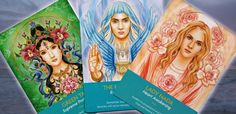 Oracle cards by Kyle Gray from The Keepers of The Light Oracle.