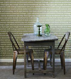 Typography Wallpaper by Brian Yates   Jane Clayton