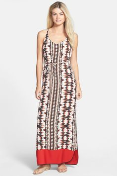 FELICITY & COCO Print Crepe Maxi Dress by Felicity and Coco on @nordstrom_rack