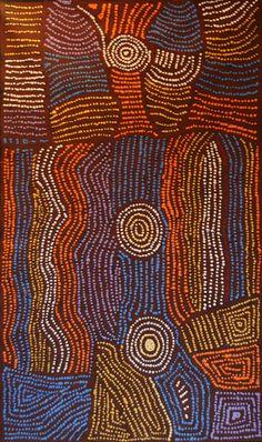 Maisey Campbell Napaltjarri ~ Rockholes, 2008