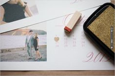 Do It Yourself Photo Save the Date Calendar Cards | CHECK OUT MORE IDEAS AT WEDDINGPINS.NET | #diyweddings