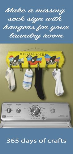 Make a missing sock