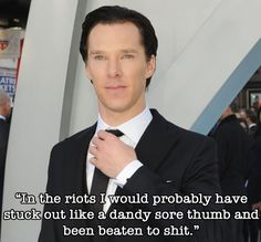 7 Fantastic Benedict Cumberbatch Quotes That Prove He Is A Totally Awesome Goofball - BuzzFeed Mobile