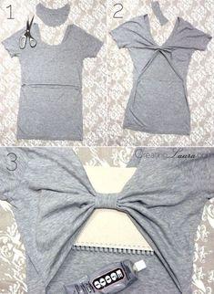 Transforma tu camiseta- espalda