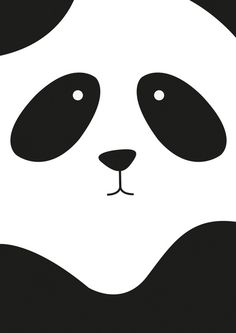 Panda Art Print by Scott Coleman | Society6. I had this as my cellphone case. :)