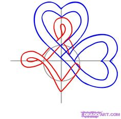 how to draw a celtic clover knot step 4