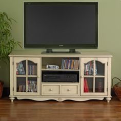 Gallery For > Antique Tv Console