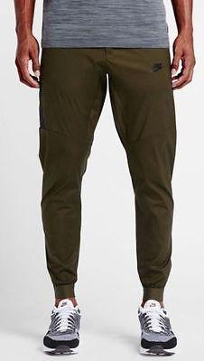 NWT MEN'S NIKE Sportswear Bonded Woven jogger Pants 823363-347 SZ 28 S Clothing, Shoes & Accessories:Men's Clothing:Athletic Apparel #nike #jordan #shoes houseofnike.com $86.40