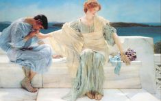 Sir Lawrence Alma-Tadema ask me no more painting is available for sale; this Sir Lawrence Alma-Tadema ask me no more art Painting is at a discount of off. Romantic Art, Art Prints, Classic Art, Fine Art, Artist, Pre Raphaelite, Painting, Pre Raphaelite Art, Lawrence Alma Tadema