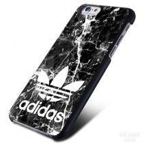 Adidas Marble Black Texture iPhone Cases Case