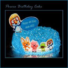 Pororo Cake Birthday cakepins.com