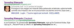 Spreading Waterpolo riceve l'authorship da Google ~ Spreading Waterpolo  Piccola soddisfazione dopo mesi di lavoro appassionato e spero coinvolgente: Google ha rilasciato l'authorship al mio blog, che ora è visibile nelle ricerche come da foto.
