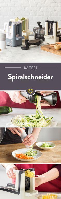 Rohkostspiralen als Salat und Gemüsepasta sind dank des Spiralschneiders längst keine Neuheit mehr. Aber welches Gerät ist am besten geeignet und stellt die schönsten Gemüsefäden her? Ergebnisse soll unser Praxistest liefern und zeigen, welcher Spiralschneider hier der Spitzenreiter ist.