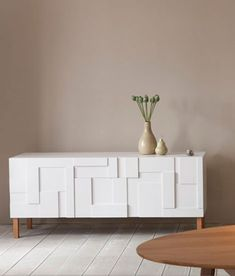 white sideboard from pinchdesign.com