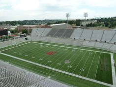What do you think of the view from the press level of The Cougar Football Project?