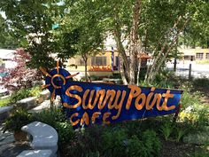 <3 Sunny Point Cafe in W. Asheville, on Haywood Rd. - farm to table fresh ... great for breakfast/brunch/anytime!