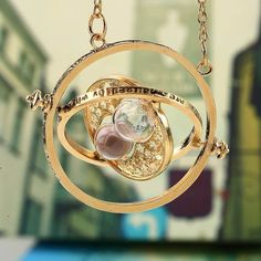 Time turner Harry Potter halsband timglas tidvändare