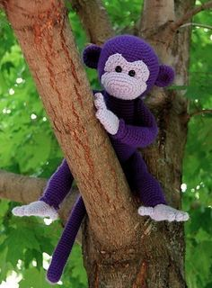 I wanna make a crochet stuffed animal for baby Lily and I'm leaning toward this monkey pattern on Etsy.