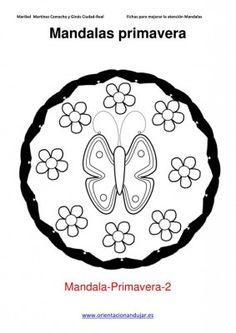 Colorear mandalas de primavera - Orientacion Andujar