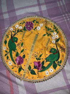 Bead Embroidery Jewelry, Textile Jewelry, Embroidery Kits, Beaded Embroidery, Embroidery Designs, Laddu Gopal Dresses, Bal Gopal, Ladoo Gopal, Bal Krishna